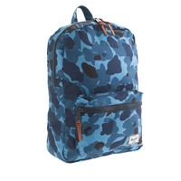 Herschel Supply Co.® for crewcuts Settlement backpack in blue camo