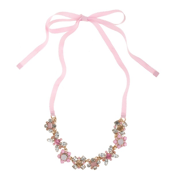 Girls' gem box necklace