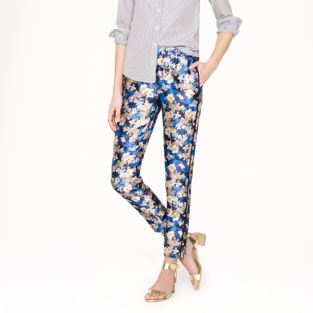 Collection track pant in nightgarden floral