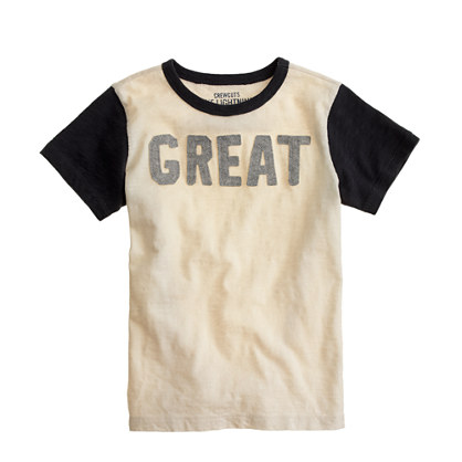 Boys' great tee