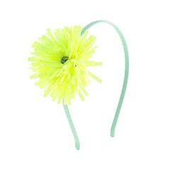 Girls' flower fringe headband