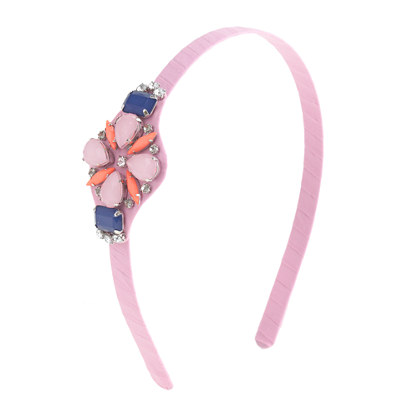 Girls' jewel-encrusted headband