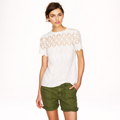 Collection Victorian lace top