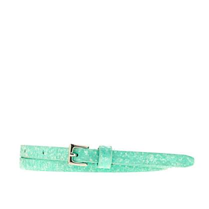 Girls' glitter belt