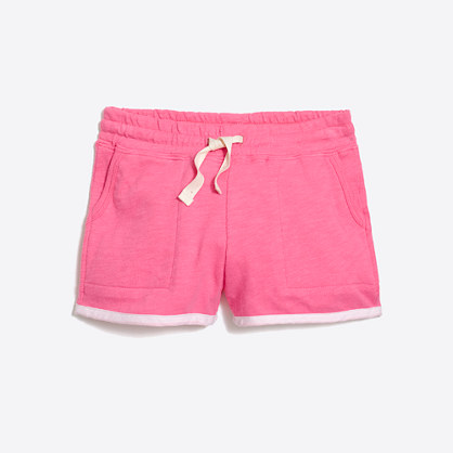 Girls' pull-on short with pockets