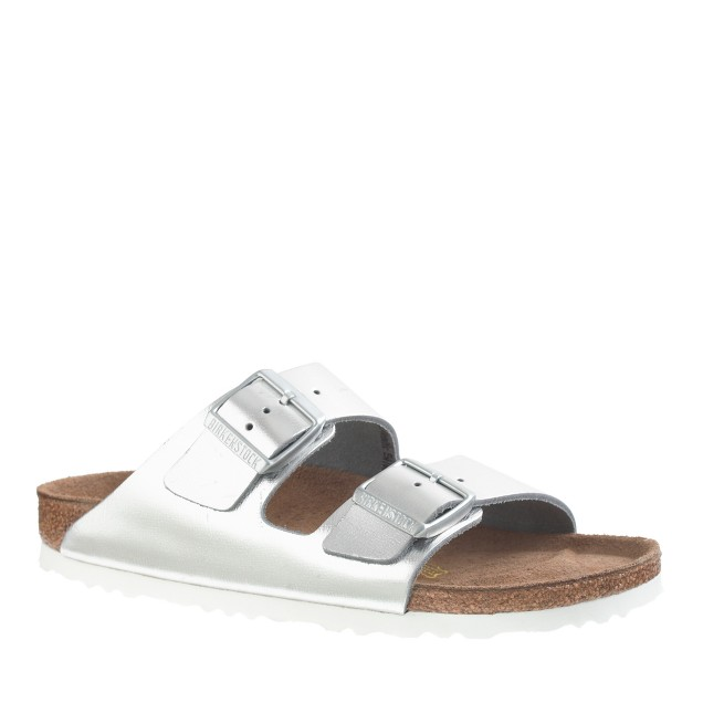 birkenstock metallic arizona sandals j crew. Black Bedroom Furniture Sets. Home Design Ideas