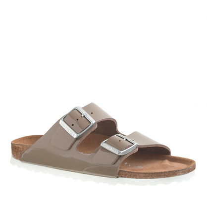 Birkenstock® for J.Crew patent leather Arizona sandals