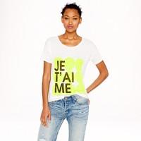 Linen je t'aime T-shirt