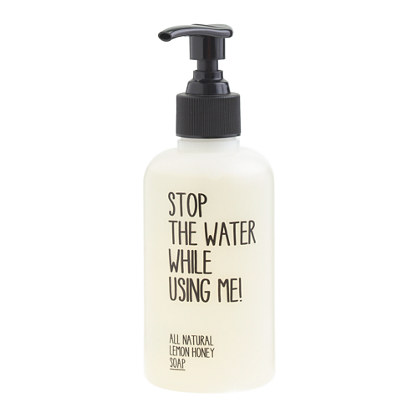 Stop the Water While Using Me® all-natural lemon honey soap