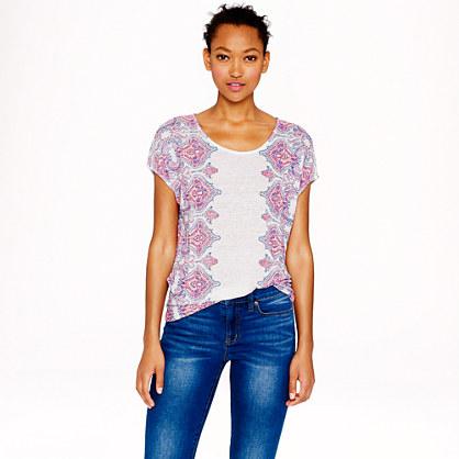 Linen dolman T-shirt