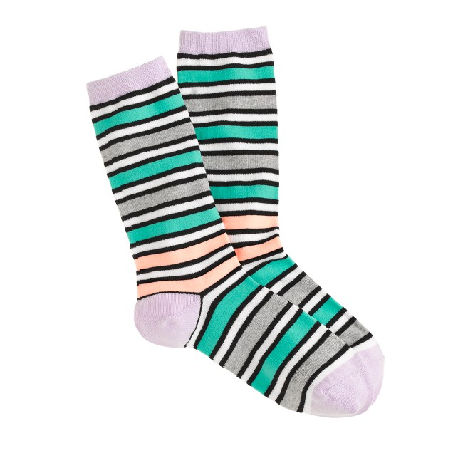 Multistripe trouser socks