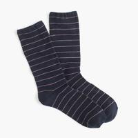 Thin-striped socks