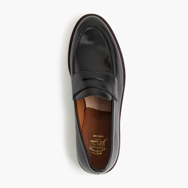 Ludlow penny loafers