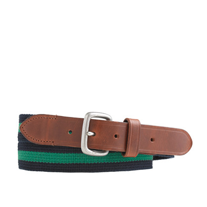 Stripe web belt