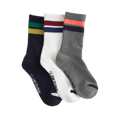Boys' gym socks three-pack
