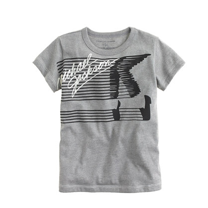 Kids' Bravado™ rock tee for crewcuts in Michael Jackson moonwalker