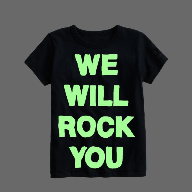 Kids' Bravado™ rock tee for crewcuts in We Will Rock You