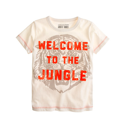 Kids' Bravado™ rock tee for crewcuts in Welcome to the Jungle