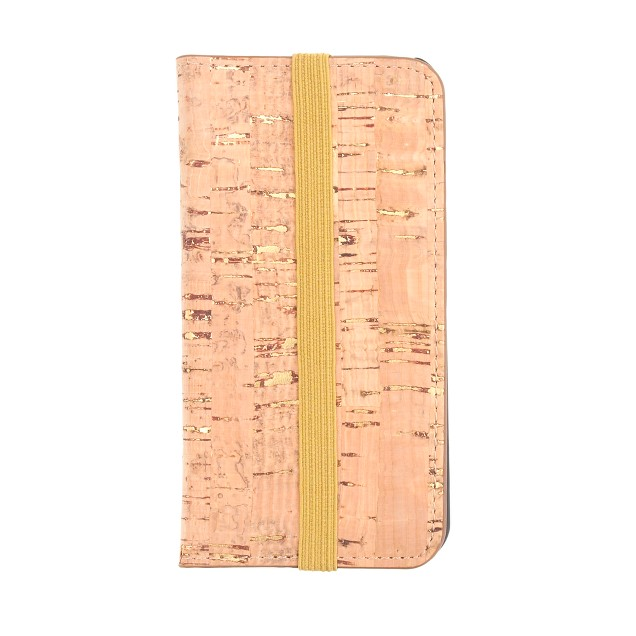 Cork wallet case for iPhone® 5/5S