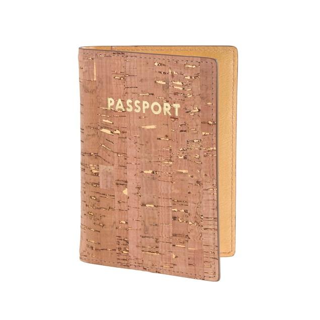 Cork passport case