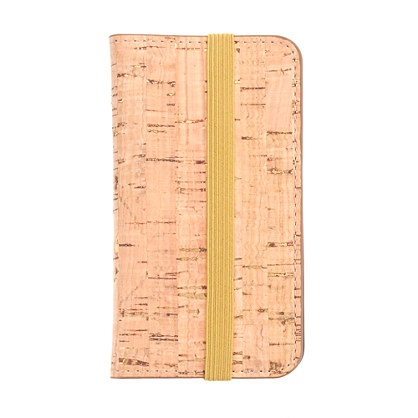 Cork wallet case for iPhone® 4/4S