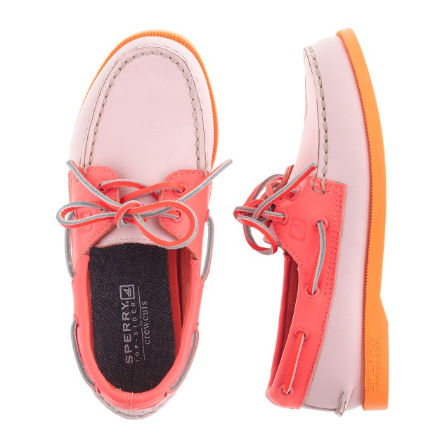 Girls' Sperry Top-Sider® Authentic Original 2-eye boat shoes in tri-color