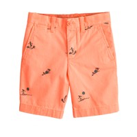 Boys' embroidered Stanton short in hula