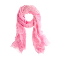 Bandana-print scarf