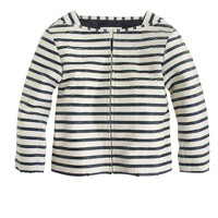 Collection stripe python jacket