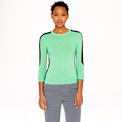 Collection featherweight cashmere arrow-sleeve sweater
