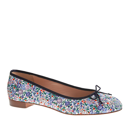 Kiki ballet flats in Liberty Emma and Georgina floral