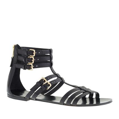 T-strap gladiator sandals
