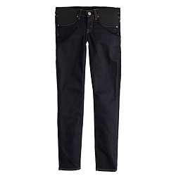 Tall maternity toothpick jean in classic rinse