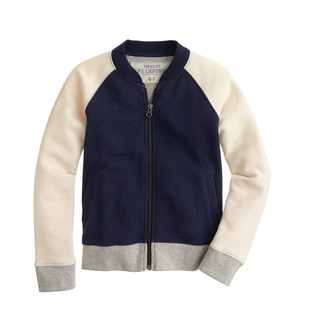 Boys' colorblock track jacket