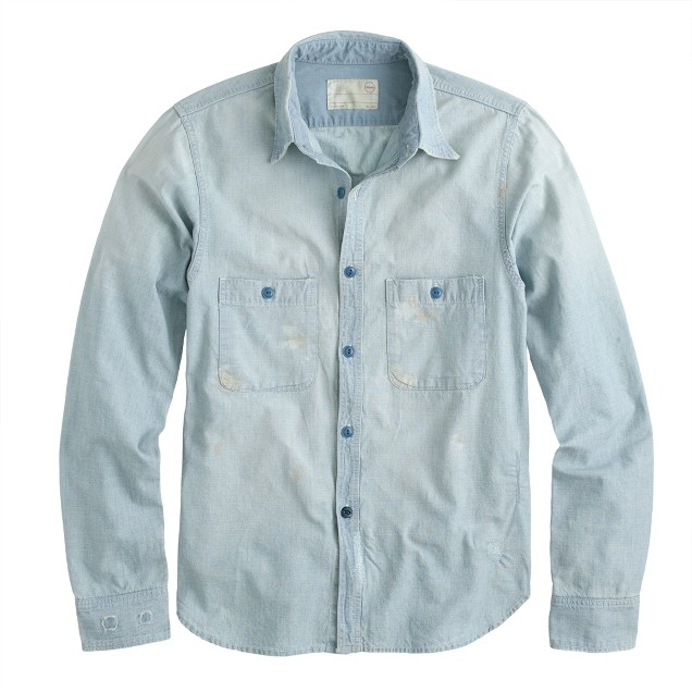 Chimala® chambray workshirt