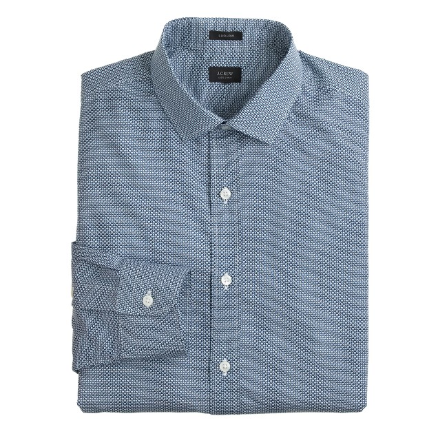 Ludlow shirt in parachute print