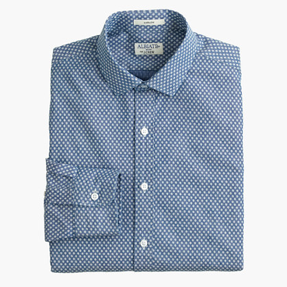 Slim Albiate 1830 for J.Crew shirt in circle cross