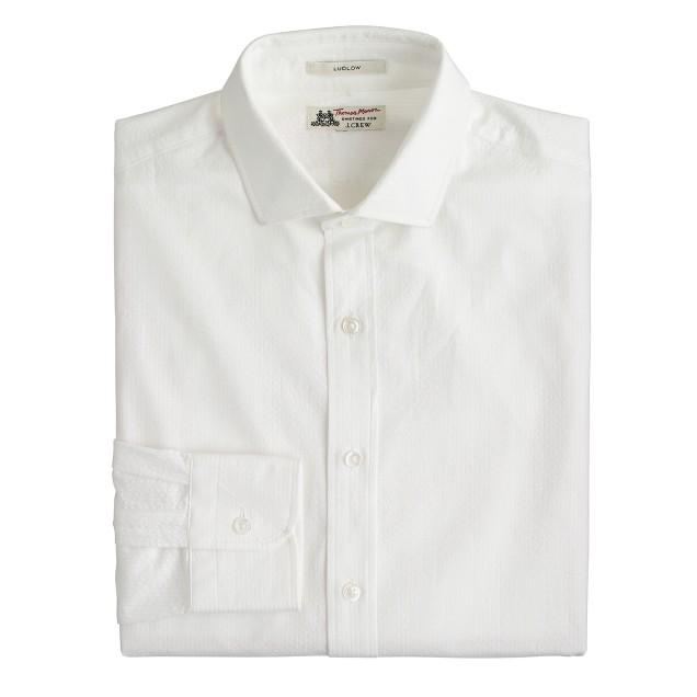 Thomas Mason® for J.Crew Ludlow shirt in seersucker