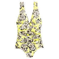 Photo floral ruched tank