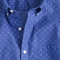 Secret Wash shirt in faded dot