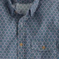 Slim Secret Wash shirt in diamond floral
