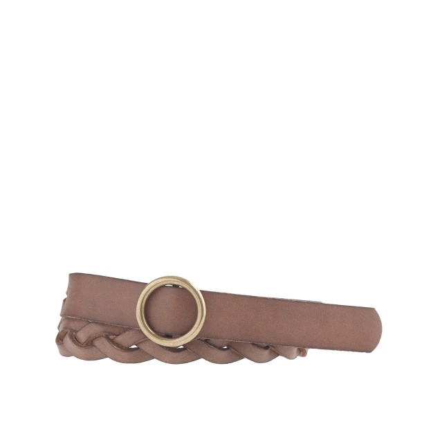 O-ring braided belt