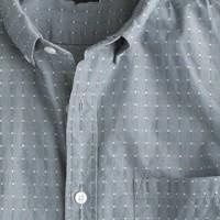 Secret Wash shirt in woven diamonds