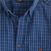 Slim Secret Wash shirt in multidiamond
