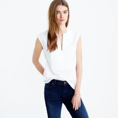 Collection Thomas Mason® for J.Crew sleeveless top