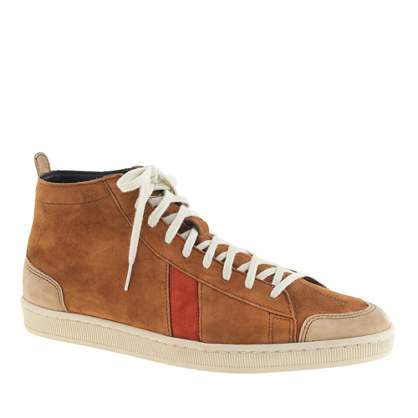 Men's Sawa™ for J.Crew suede high-top sneakers