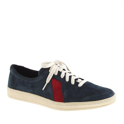 Men's Sawa™ for J.Crew suede low-top sneakers