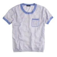 Linen pocket T-shirt