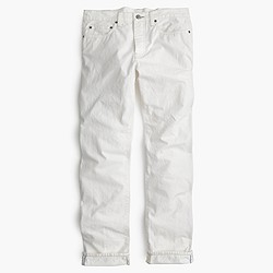 770 Japanese selvedge jean in white