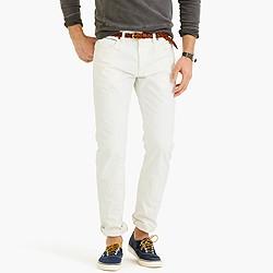 770 Japanese selvedge jean in white